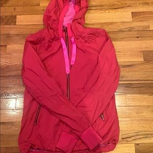 Hot pink lulu lemon jacket